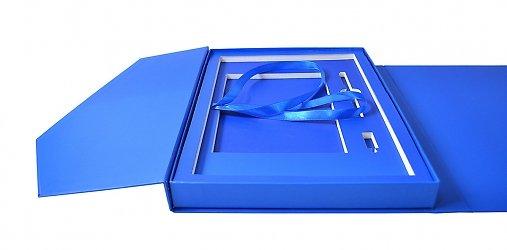 фирменная коробка-портфель для отчетной документации