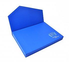 кашированная коробка портфель с клапаном на магните