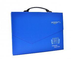 картонная упаковка-портфель с логотипом