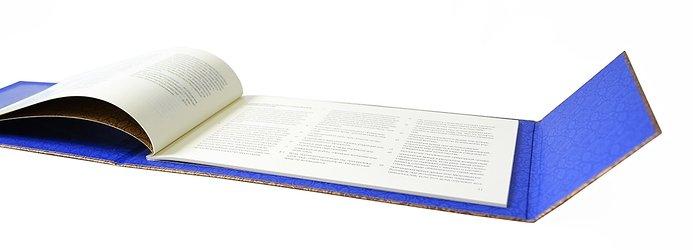 кашированная дизайнерская упаковка для полиса