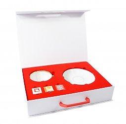 кашированная подарочная упаковка с ложементом