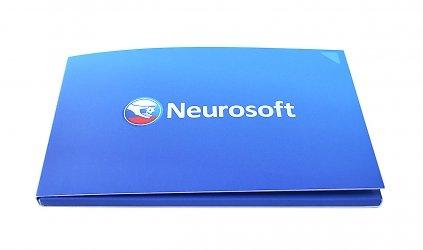 картонная упаковка для флешки с логотипом
