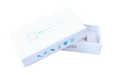 фирменная коробка с ложементом и печатью
