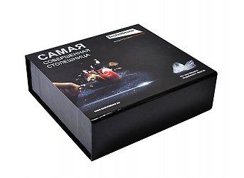Фирменная коробка на магнитах с полноцветной печатью
