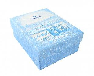 Подарочная коробка крышка-дно с картонным ложементом