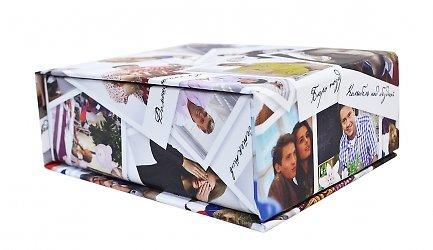 Фирменная подарочная упаковка с полноцветной печатью