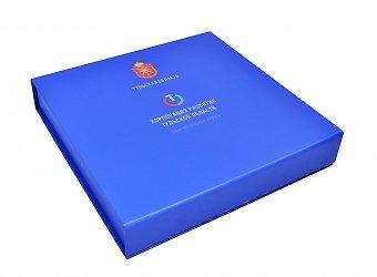 Коробка из переплетного картона с полноцветной паечатью