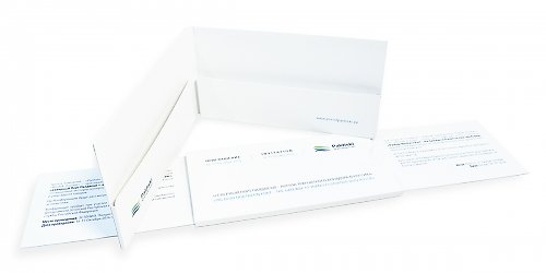 Бизнес-упаковка для креативного приглашения-слайдера