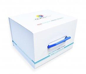 Кашированная коробка на магните для образцов стекла