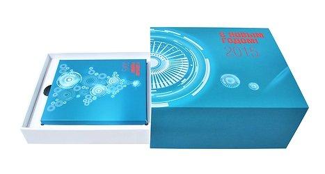 Оригинальная коробочка с ложементами для подарков