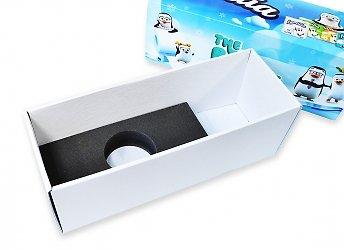 Самосборные коробки с ложементом из изолона