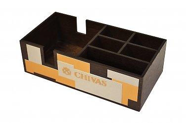 Деревянная коробка с перегородками