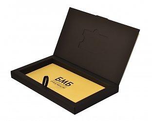 Подарочная коробочка для пластиковой карты