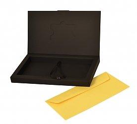 Подарочная коробочка для пластиковой карты и конверта