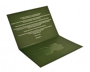 Производство картонных упаковок для пластиковых карт