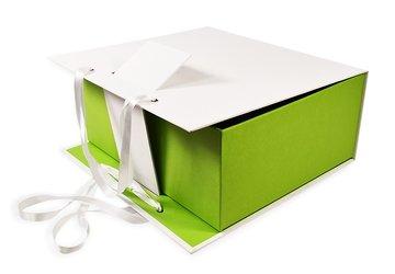 Брендированная коробка-портфель для подарочного набора