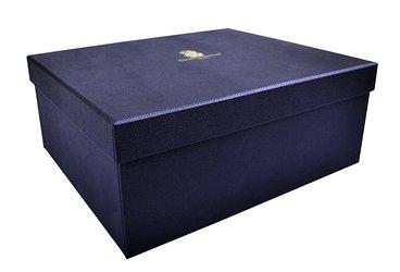 """Кашированная коробка крышка-дно """"под кожу"""""""