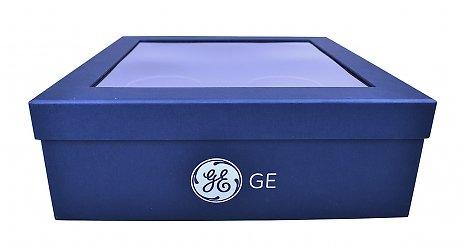 Подарочная коробка крышка-дно с ложементом для елочных шаров