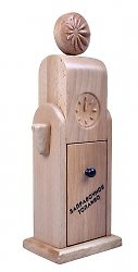 креативная деревянная шкатулка для чая