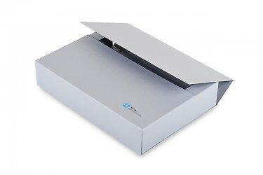 Кашированная папка-портфель с магнитной крышкой