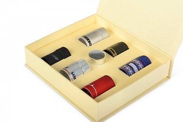 Кашированная коробка с ложементом для образцов
