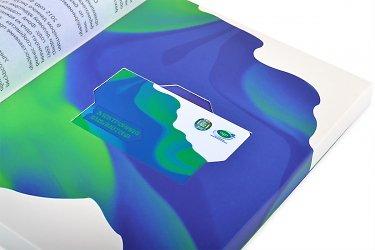 Картонная коробка для флешки-карточки