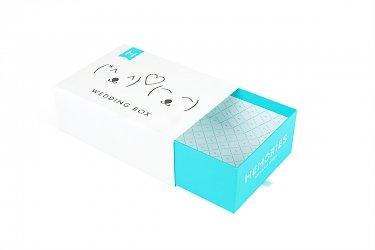Кашированная коробка-пенал для подарочного набора