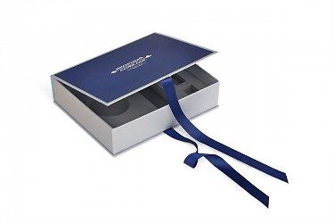 Кашированная коробка-книжка для сувенирного набора