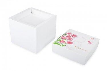 подарочная коробка с полноцветной печатью