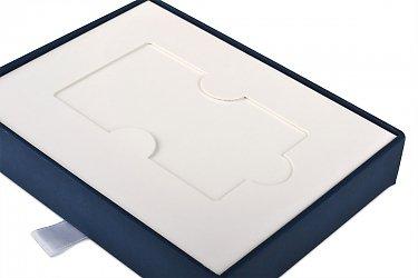 подарочная упаковка с ложементом из картона