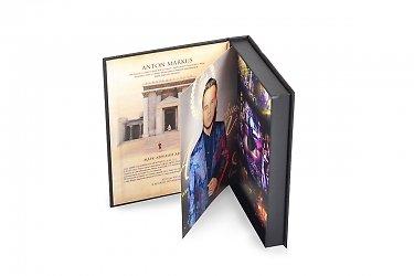 коробка подарочная упаковка для подарочного диска