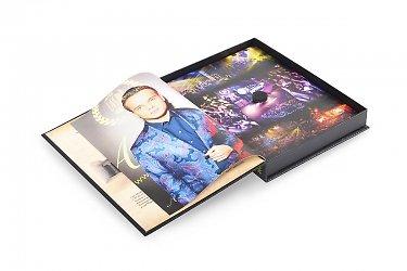 креативная книга коробка для диска