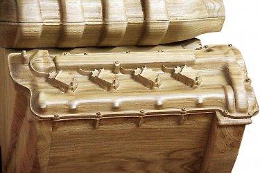 запоминающаяся подарочная деревянная упаковка