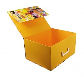 Фирменные портфели с картонным ложементом