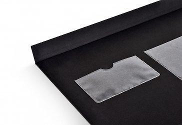 коробочка подарочная кармашками для металлических пластин