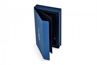 упаковка коробка-книжка для банковской карта