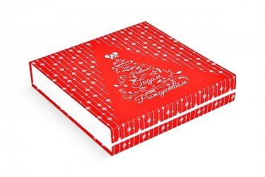 Подарочная коробка с тканевый ложементом