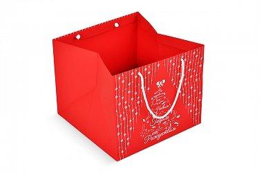 подарочная коробочка в подарочном пакете