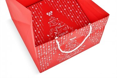 изготовление коробок подарочных с пакетами