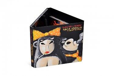 изготовление коробочки - CD-диджипак с набором карточек