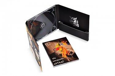 изготовление коробочек - CD-диджипак с набором карточек