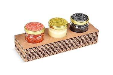 упаковка для сувениров из гофрированного картона