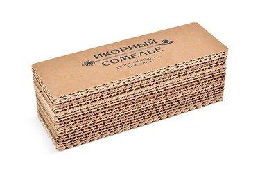 коробки с крышкой большим тиражом