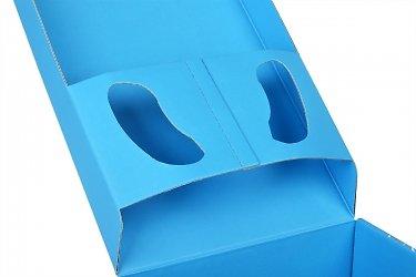коробки с крышкой, в которую встроен картонный ложемент для наушников