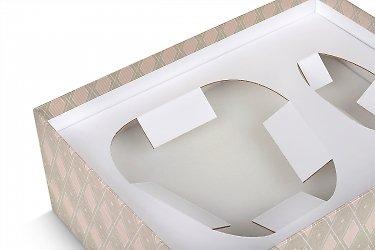 подарочная коробка на заказ с картонным ложементом