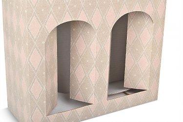 изготовление коробок в формате пакета с ручками