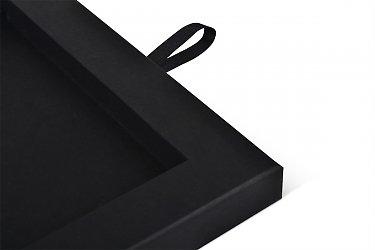 сувенирная упаковка с лентами и двойным ложементом