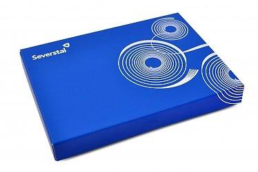 Индивидуальная картонная упаковка с магнитной крышкой