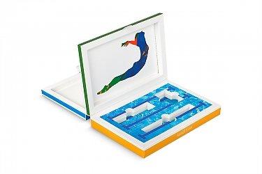 коробка подарочная с приглашением и набором