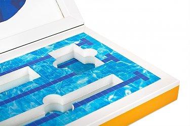изготовление коробок большим тиражом с изолоновым ложементом